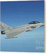 A Typhoon Aircraft From 29 Squadron Royal Air Force Wood Print