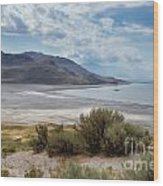A View From Buffalo Point Of White Rock Bay Wood Print