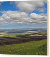 A View From Cabbage Hill Wood Print