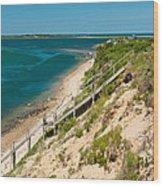 A View From Chappaquiddick Island Marthas Vineyard Massachusetts Wood Print