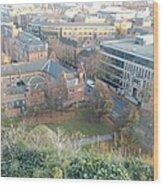 A View Of Nottingham Wood Print