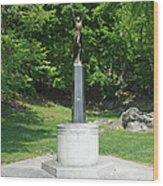 A View Of The Air Cadet Memorial Wood Print