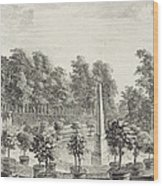 A View Of The Orangery Wood Print