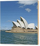 A View Of The Sydney Opera House Wood Print
