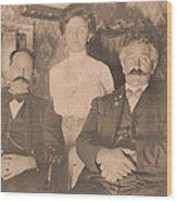A Vintage Photo Of People Wood Print