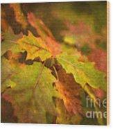 A Vision Of Fall Wood Print