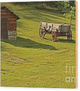 A Wagon   Let's Work Wood Print