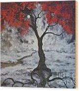 A Walk In The Twilight Wood Print