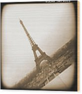 A Walk Through Paris 11 Wood Print