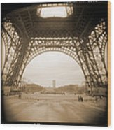 A Walk Through Paris 14 Wood Print by Mike McGlothlen