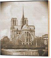 A Walk Through Paris 25 Wood Print by Mike McGlothlen