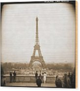 A Walk Through Paris 5 Wood Print by Mike McGlothlen