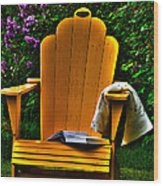A Well Deserved Rest Wood Print