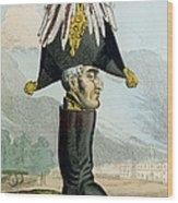A Wellington Boot Or The Head Wood Print