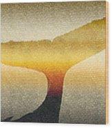 A Whales Tale Wood Print