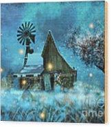 A Winter Fairytale Wood Print