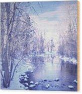 A Winter Reverie Wood Print