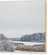 A Winters Dream Wood Print