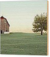 A Wisconsin Postcard Wood Print
