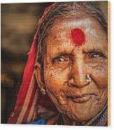 A Woman Of Faith Wood Print