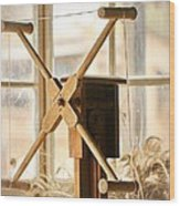 A Womans Work Is Neverdone Wood Print