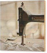 A Womans Work Wood Print