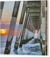 A Wrightsville Beach Morning Wood Print by JC Findley