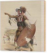 A Zulu Wood Print