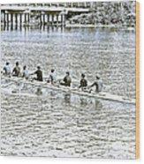 A2230071 Regatta Wood Print