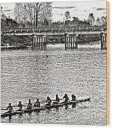 A2230185 Regatta Wood Print
