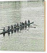A2230191 Regatta Wood Print
