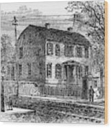 Aaron Burr Birthplace Wood Print