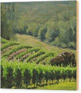 Abacela Vineyard Wood Print