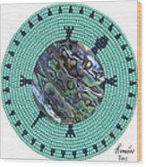 Abalone Shell Wood Print