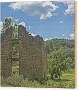 Abandon Stone House 2 Wood Print