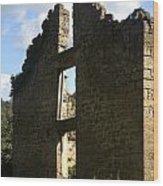 Abandon Stone House 5 Wood Print