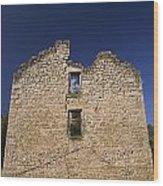 Abandon Stone House 6 Wood Print