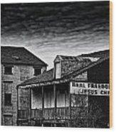 Abandone Buildings 1 Wood Print