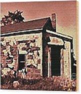 Abandoned Cape Breton House Wood Print by John Malone