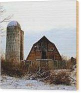 Abandoned Farm 2 Wood Print