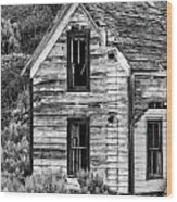 Abandoned Farmhouse - Alstown - Washington - May 2013 Wood Print