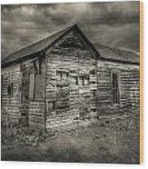 Abandoned Home Wood Print