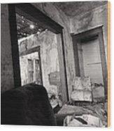 Abandoned Homestead Series Decay 2 Wood Print
