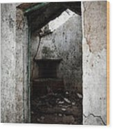 Abandoned Little House 1 Wood Print