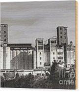 Abandoned Mills Wood Print
