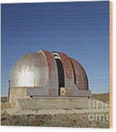 Abandoned Observatory Wood Print