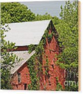 Abandoned Old Barn Wood Print