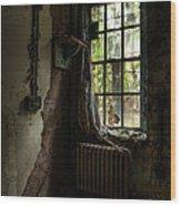 Abandoned - Old Room - Draped Wood Print