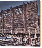 Abandoned Rio Grande Wood Print