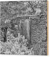 Abandoned Root Cellar - Alstown - Washington - May 2013 Wood Print
